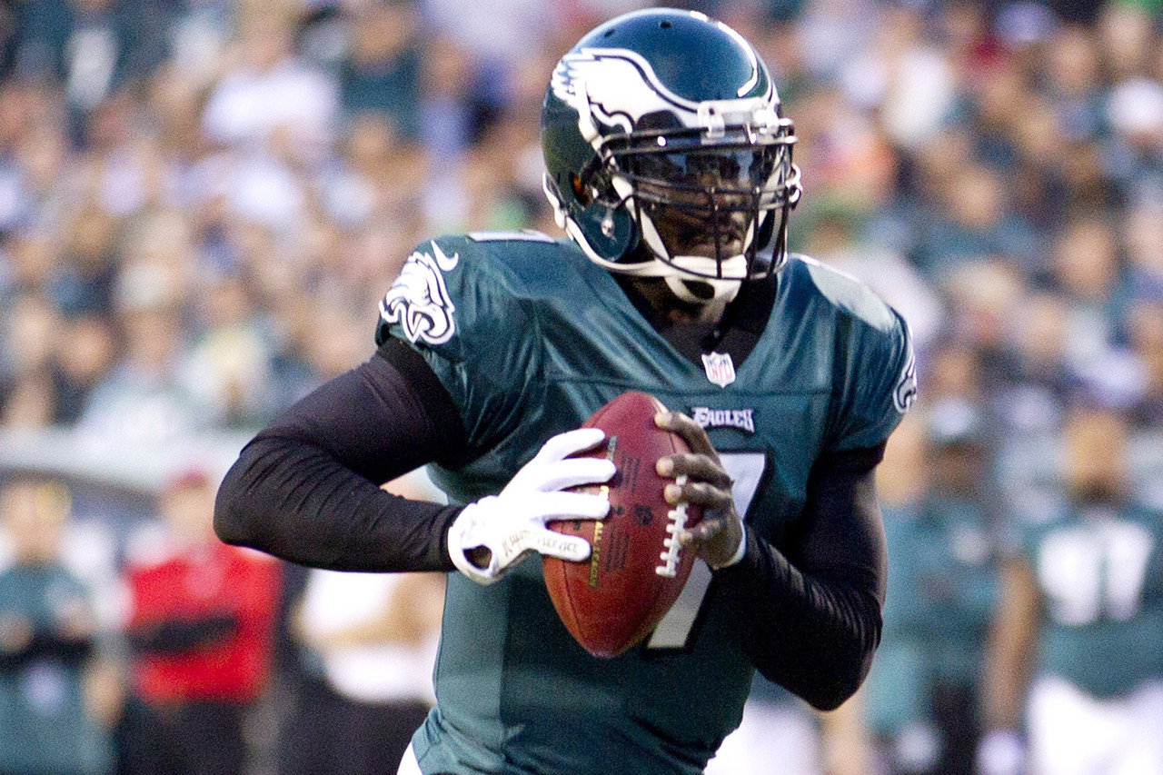 1. Michael Vick, QB, Philadelphia Eagles (31.8 percent):