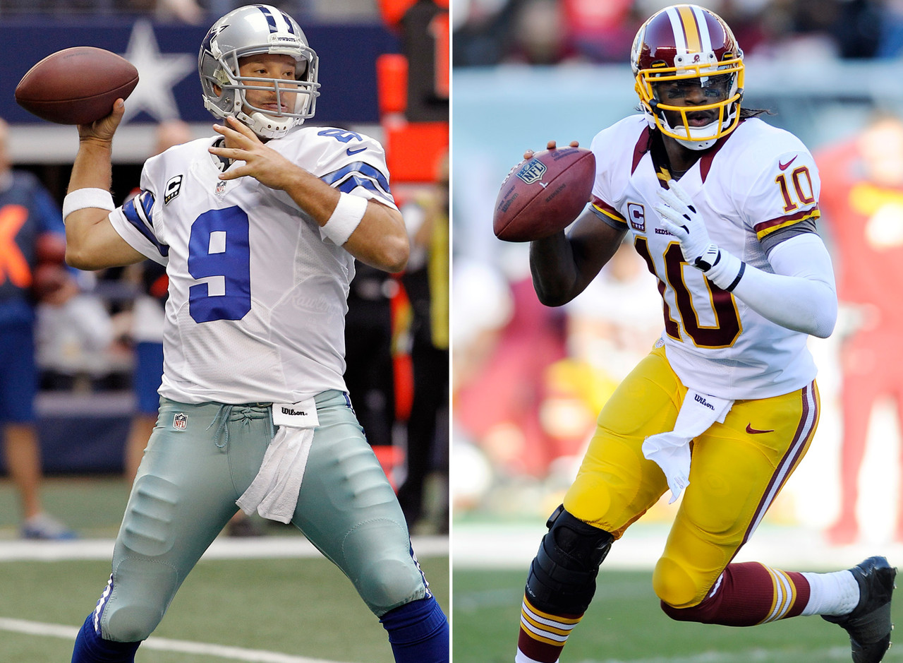 Rated R: Romo, RG3 and Russell