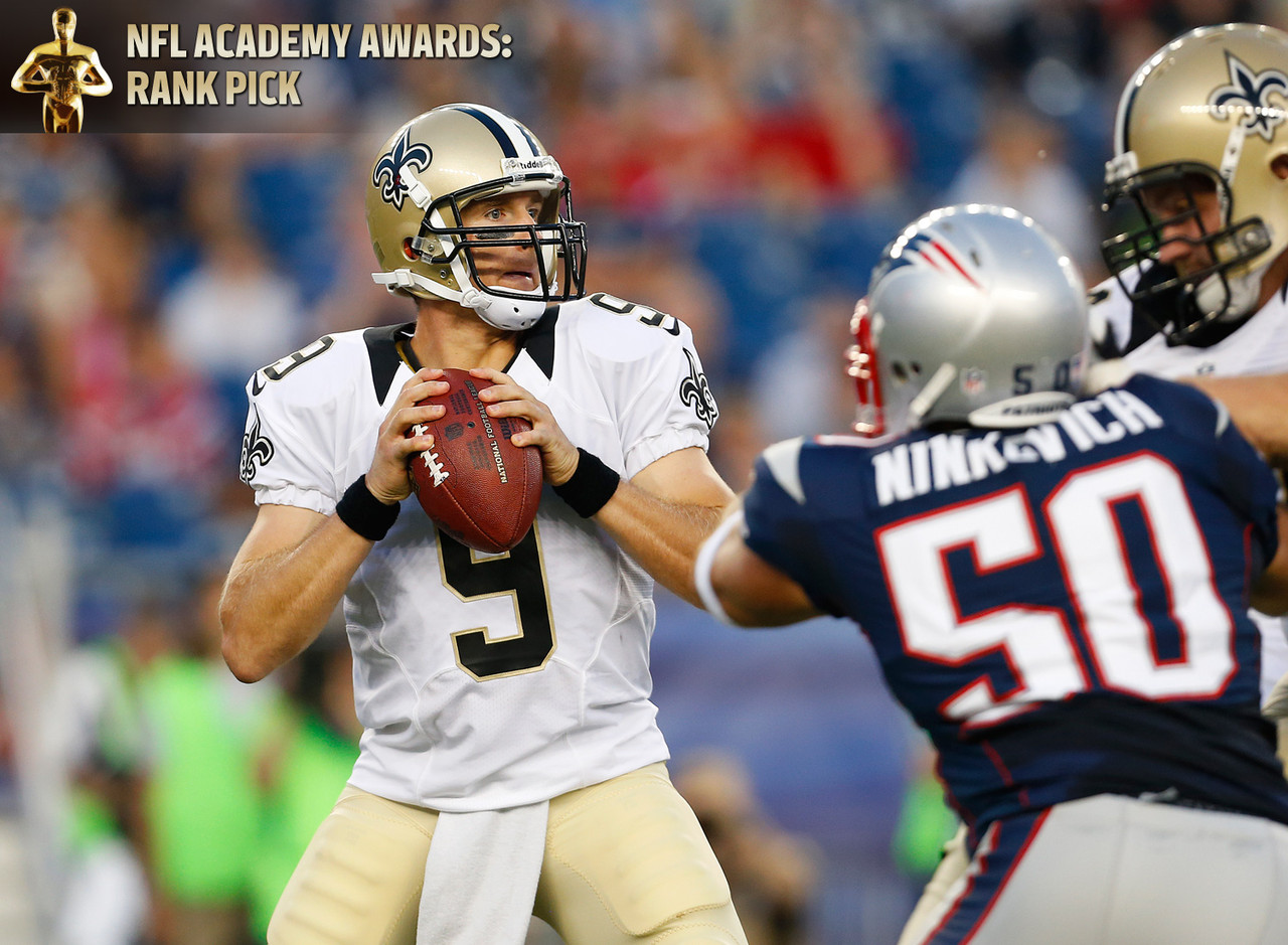 Best quarterback in a starring role: Drew Brees