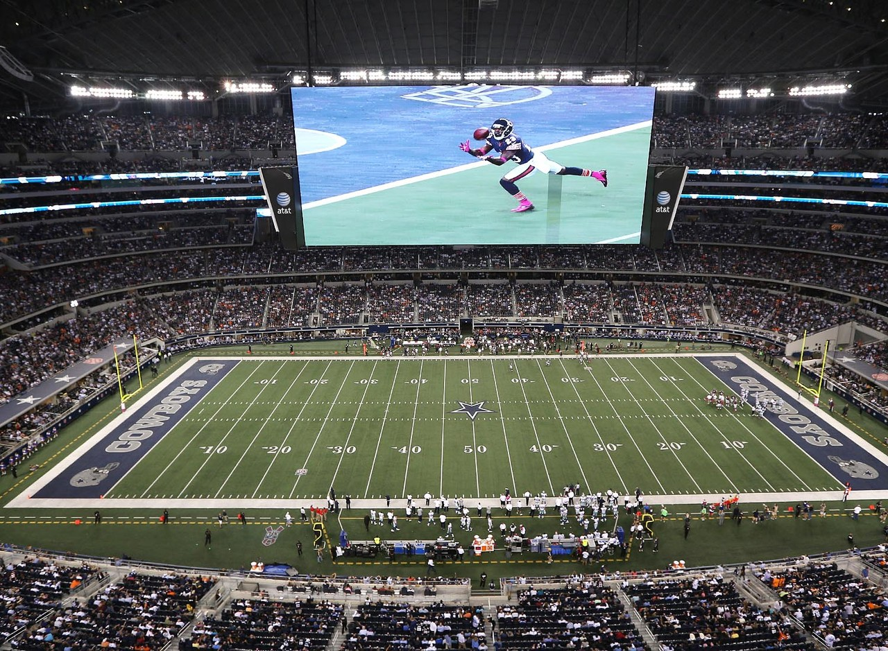 Whatever the Cowboys do, don't ever lose the giant TV. People might believe the TV is way too big for the stadium. Those people have never seen it.