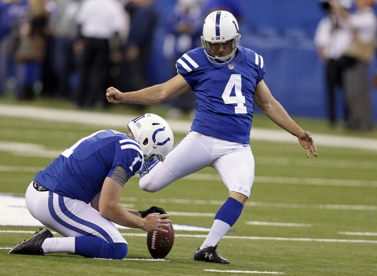That's right, kickers don't often get a lot of respect for being playmakers. However, if there is one kicker who is seemingly revered by nearly everybody in the league, it's Vinatieri.
