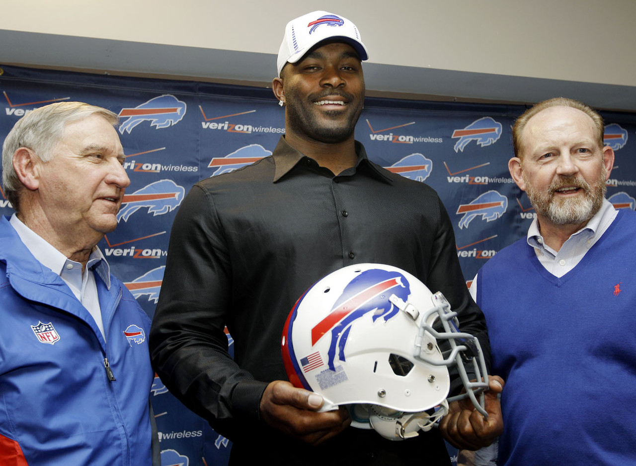 "<p>Big names really do want to play for Buffalo! A ton of folks were talking up the Bills as a playoff team after spending huge money on Mario Williams in free agency. The team also added Mark Anderson from New England, and brought back Stevie Johnson on a big money deal.    <p><b>What they were saying at the time:</b> From ESPN's free agency ""Winners and losers"" article:   <p>""This is where perception comes into play in a positive way. Signing the best free agent on defense is a big win for a franchise that has struggled for more than a decade. The $100 million contract given to defensive end Mario Williams placed the Bills back on the map. Bills general manager Buddy Nix proved to be a good salesman. The Chicago Bears, Atlanta Falcons and Seattle Seahawks couldn't -- and didn't even try to -- match or challenge the Bills."""