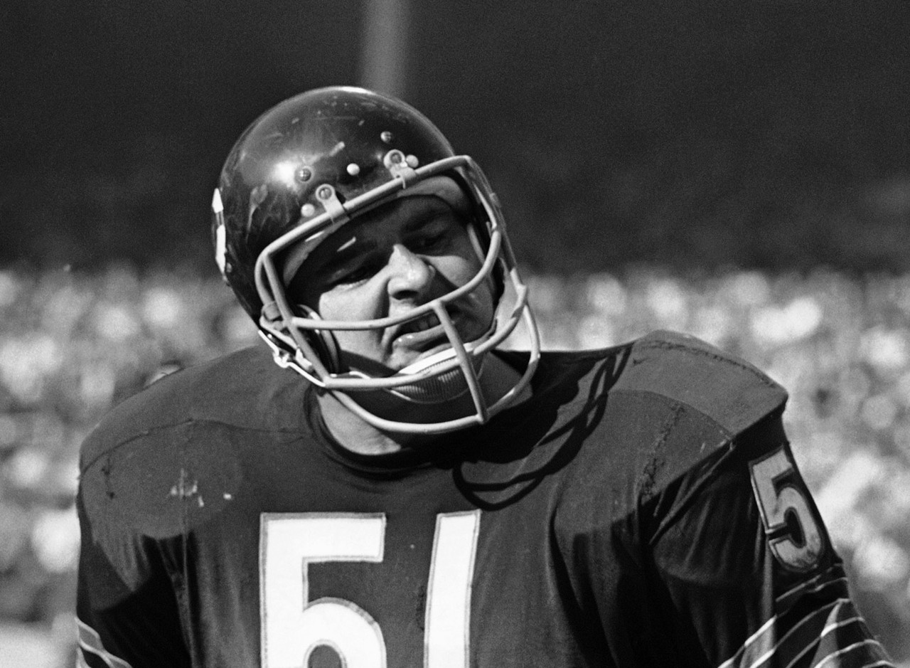 "<a href=""http://www.nfl.com/videos/nfl-network-top-ten/09000d5d811185e0/Top-Ten-Most-Feared-Tacklers-Dick-Butkus"" target=""new"">Even Butkus' peers were fearful</a>. As Los Angeles Rams legend Deacon Jones said, ""Roses are red, violets are blue, if you have any sense, you'll keep Butkus away from you."""