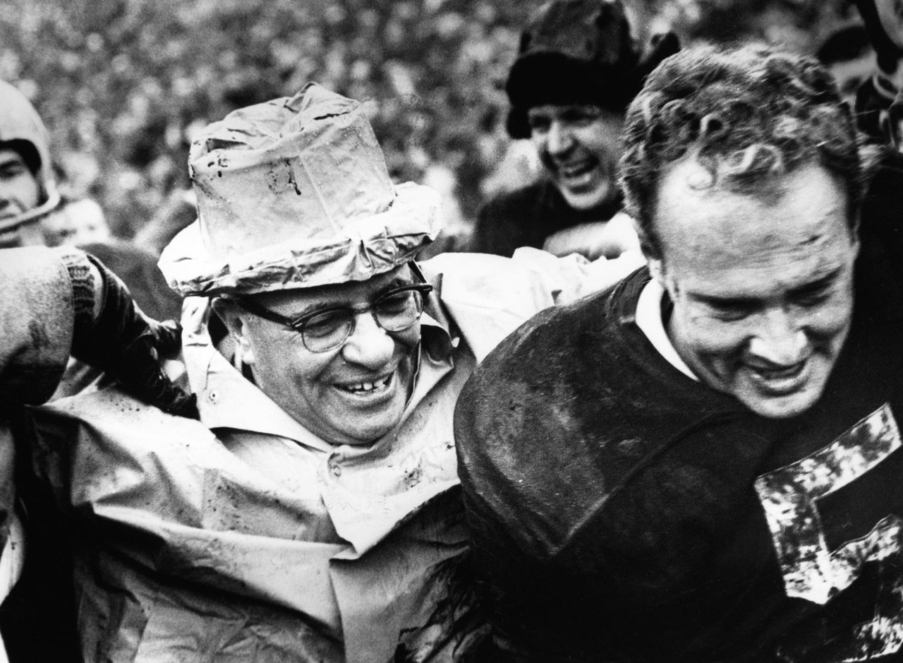 "This confluence of excellence saw one team's remarkable run end and another team embark on a march toward football immortality. The Browns were playing in their ninth NFL championship game in 16 years, entering the 1965 title game as defending champions (the 1964 league crown would be the last in team history). The Packers used a 23-12 triumph in this tilt to commence a brilliant run of three consecutive NFL championships (including the first two Super Bowls) that would cement coach Vince Lombardi and his team's lofty place in pro football history. En route to victory, the Packers shut down <a href=""http://www.nfl.com/videos/cleveland-browns/09000d5d81bdf98e/Top-100-Jim-Brown"" target=""new"">the great Jim Brown</a> (12 carries for 50 yards and no touchdowns) in what turned out to be the running back's final game."