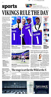 2013 NFL Draft: Newspaper Headlines