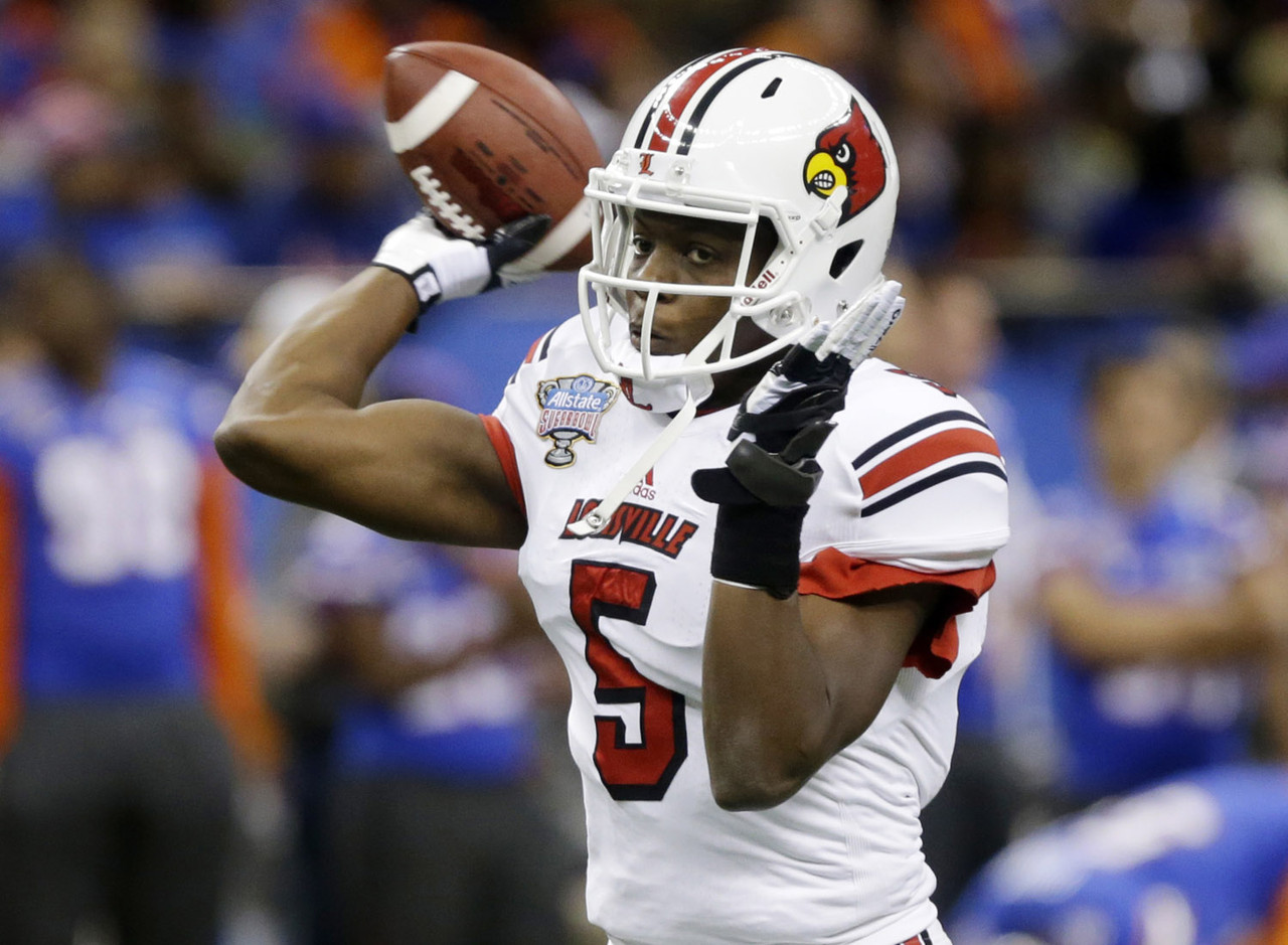 To observers not already familiar with the best pure passer in college football, the Sugar Bowl served as Bridgewater's coming-out party. He displays elite arm strength, touch and accuracy, but is most impressive as the unquestioned leader of the Cardinals.