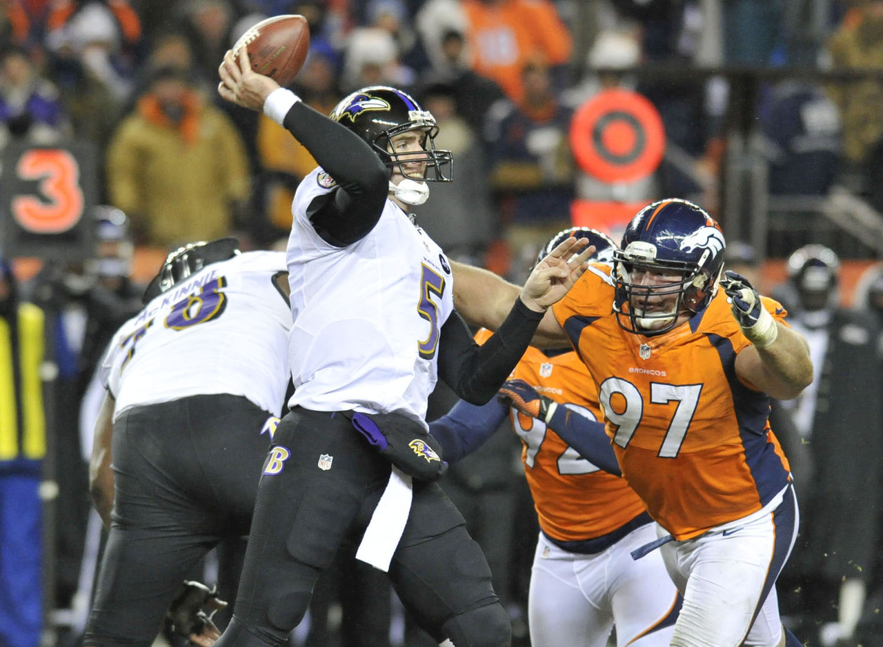 Too soon: 2012 AFC Divisional Playoff Game