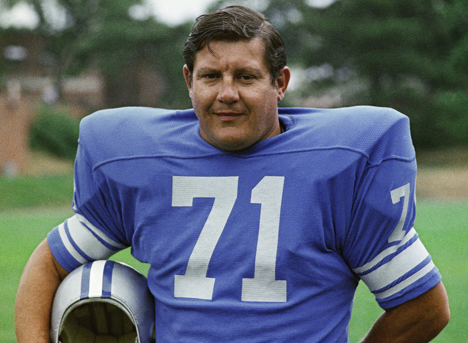 1958 NFL Draft, first round, Detroit Lions -- Karras played 12 seasons for the Lions (1958-1970) and was a four-time Pro Bowl selection. (AP Photo)