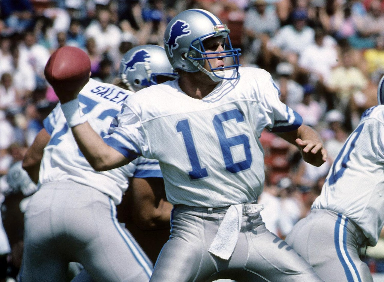 "The Iowa legend's NFL career was anything but long. He chucked it long (see what we did there?) on his first NFL pass attempt with the Detroit Lions, completing a 34-yard touchdown pass against the Tampa Bay Buccaneers. One could say it was all downhill from there. The No. 12 overall selection in the <a href=""http://www.nfl.com/draft/history/fulldraft?season=1986"" target=""new"">1986 NFL Draft</a> was out of the league by the early 1990s."