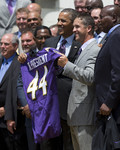 Baltimore Ravens visit the White House
