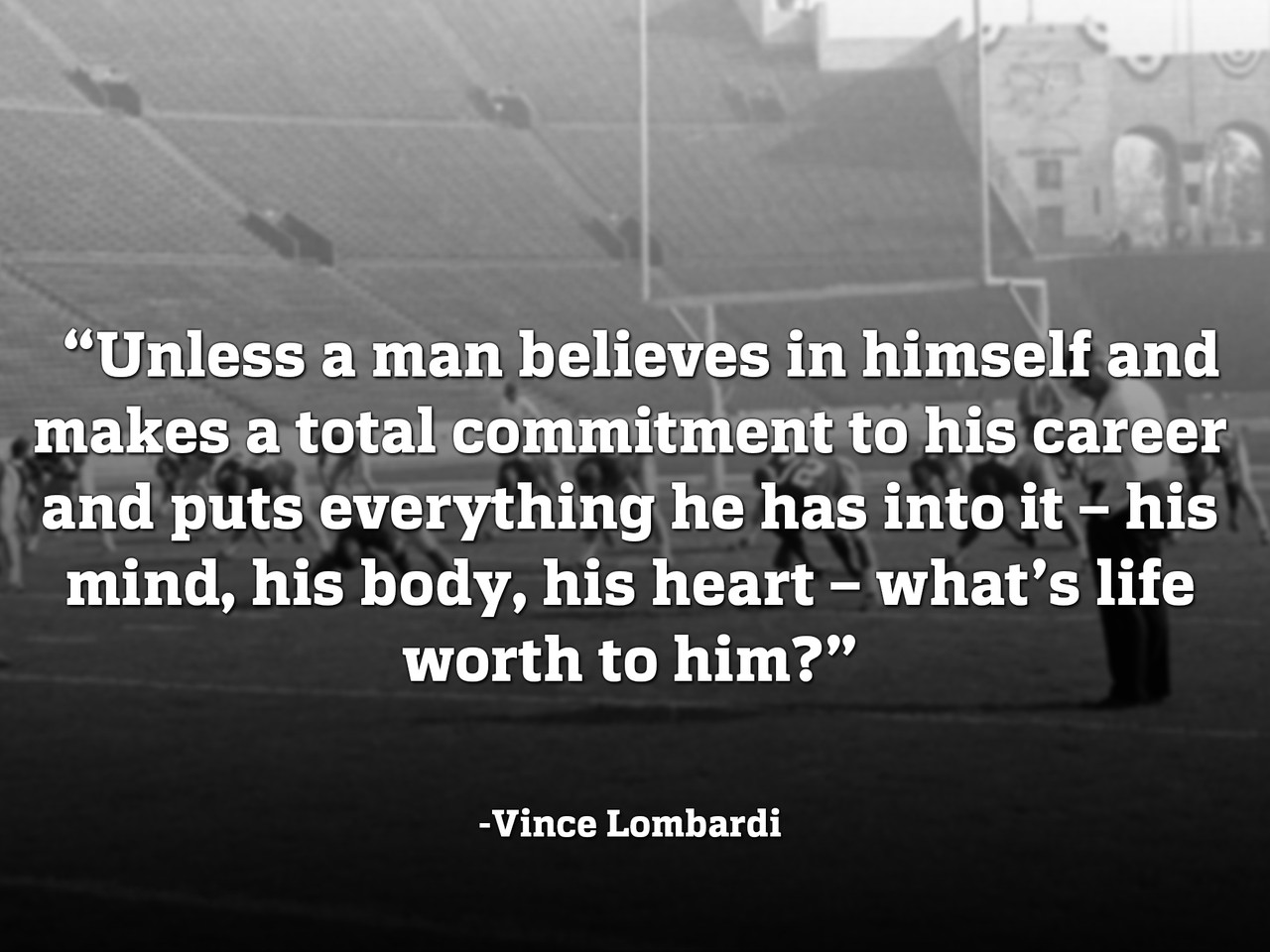 Vince Lombardi Quotes On Commitment. QuotesGram