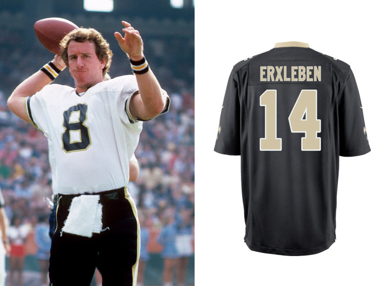 sports shoes a9c5b 33339 earl campbell new orleans saints jersey