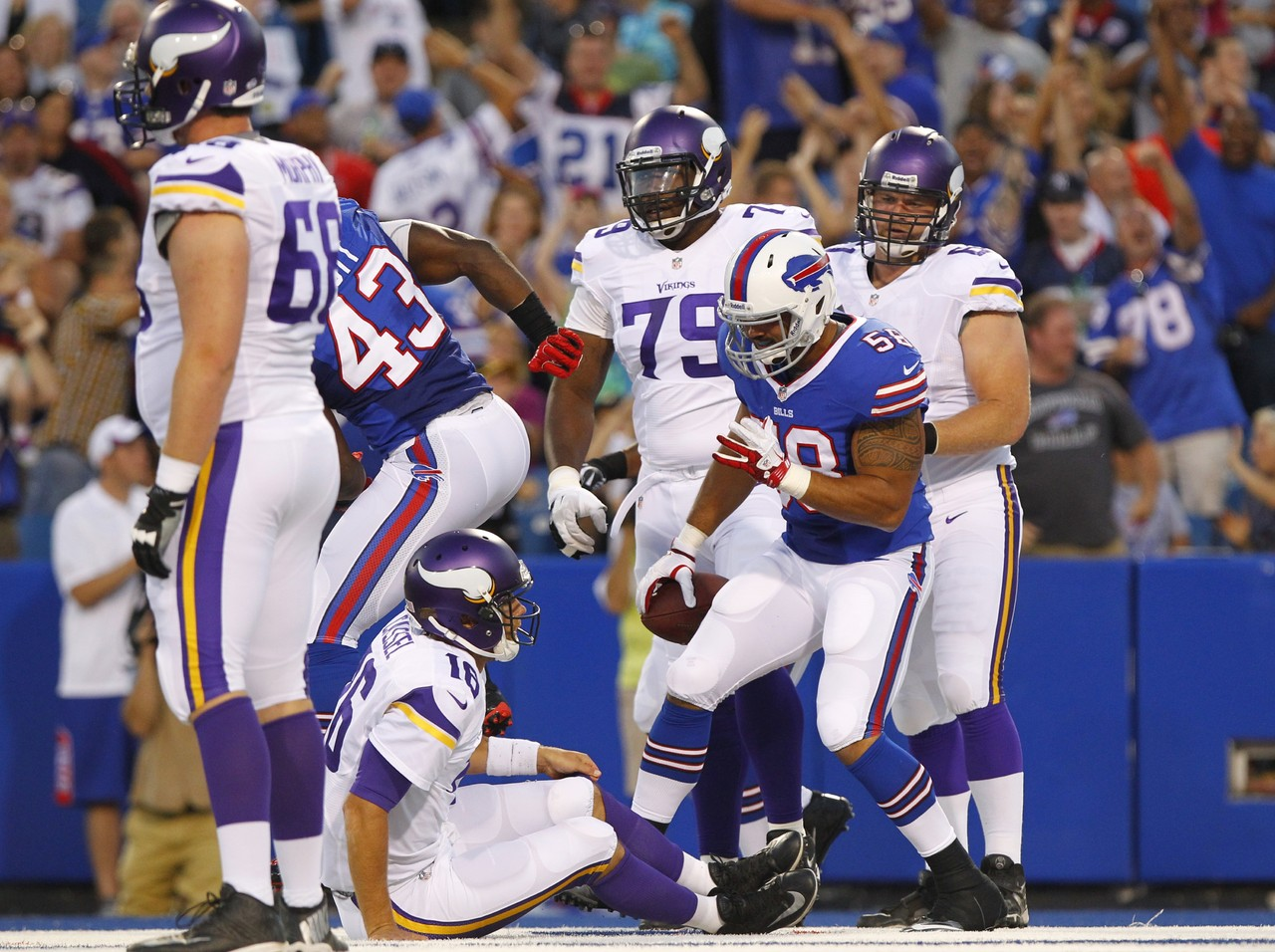 Image result for bills vs vikings