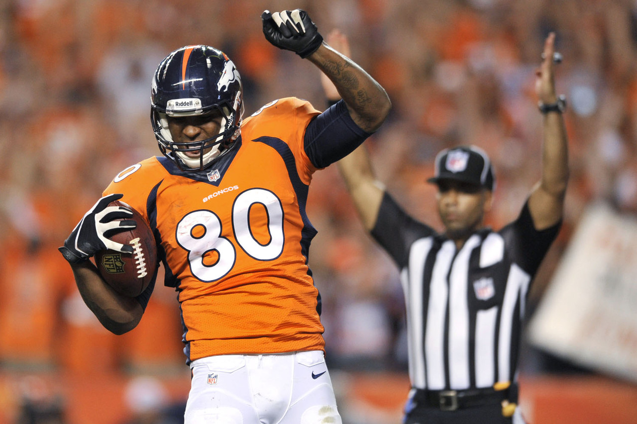 1. Julius Thomas, TE, Denver Broncos (7.6 percent owned):