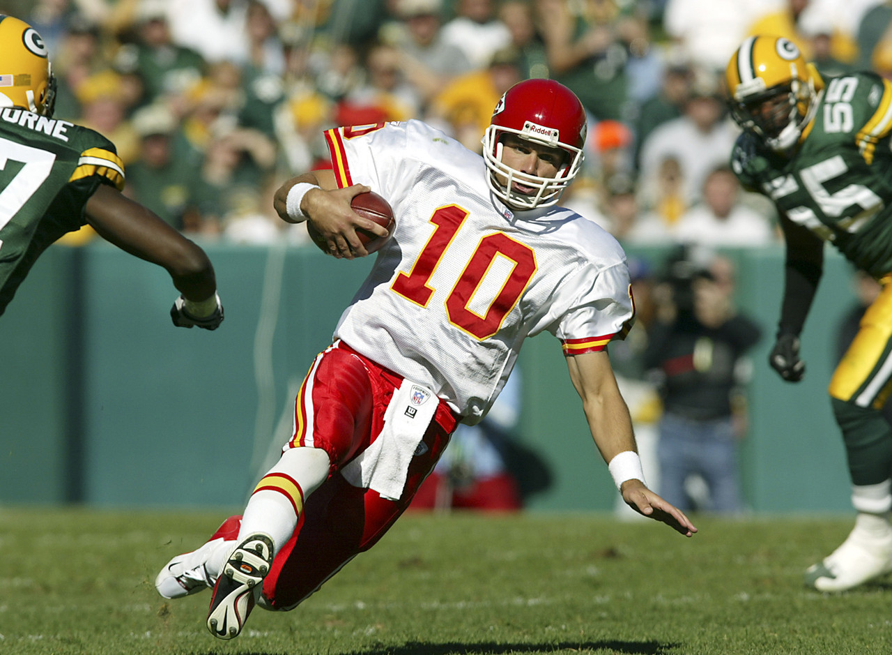"Trent Green is a first-year nominee, a good guy and a former colleague at NFL Network, so we'll start with him. His opportunity with the St. Louis Rams and <a href=""http://www.nfl.com/videos/nfl-network-top-ten/09000d5d8074cbc0/Top-Ten-Nicknames-Greatest-Show-on-Turf"">""The Greatest Show on Turf""</a> was cut (very) short by Rodney Harrison -- who's also one of the 100-plus nominees for the Class of 2014 -- but that didn't stop Green from having a productive run with the Kansas City Chiefs from 2001 to 2006, a stint that included three consecutive 4,000-yard seasons. However, Green isn't in the top 15 in any major category and was 0-2 in the playoffs as a starter.<br><br> Hall probability: None."