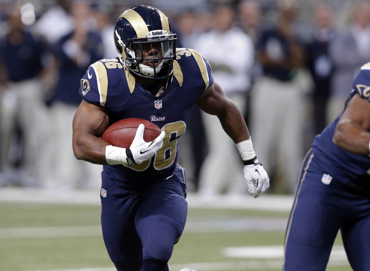 1. Benny Cunningham, RB, St. Louis Rams (0.0 percent owned):