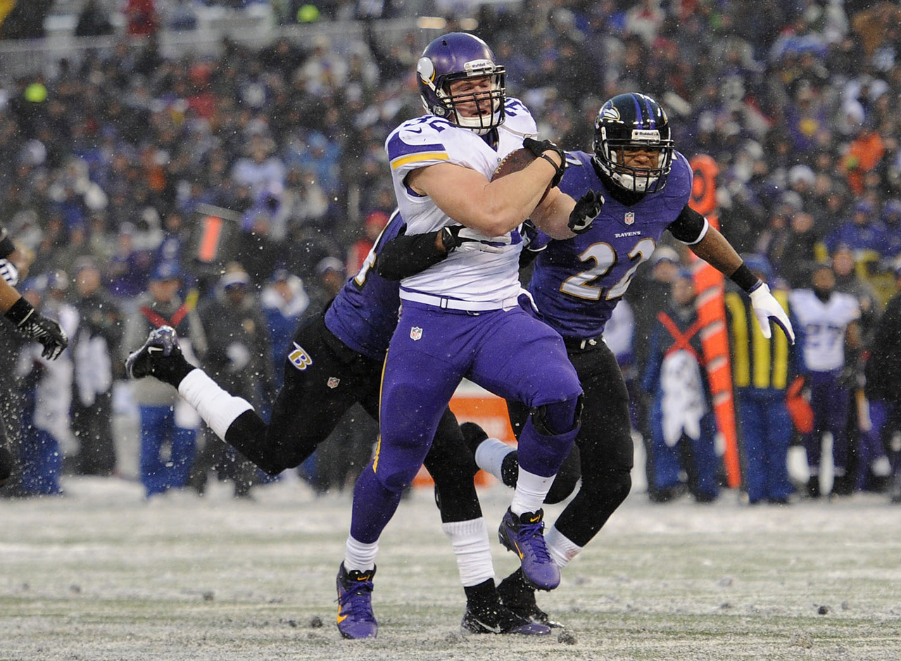 1. Toby Gerhart, RB, Minnesota Vikings (0.7 percent owned):