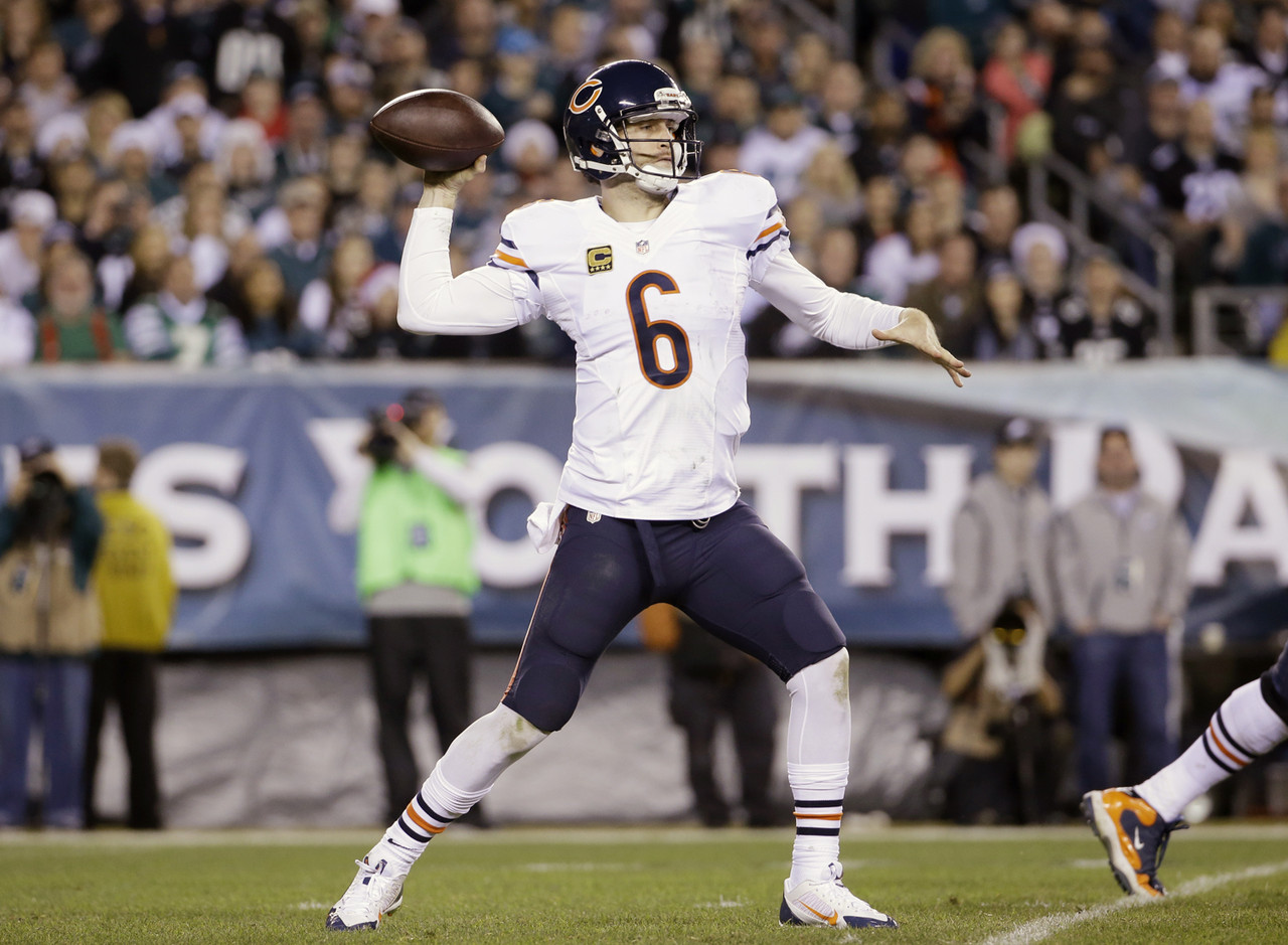 1. Jay Cutler, QB, Chicago Bears (25.7 percent owned):