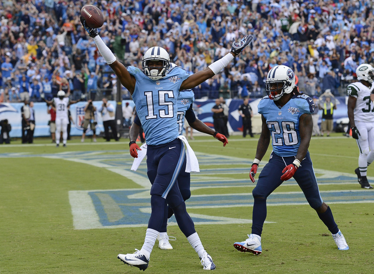 Hunter showed some serious statistical potential late in his rookie campaign, posting two games with 100-plus yards and a touchdown. A playmaker who should benefit from the presence of new coach and offensive guru Ken Whisenhunt, Hunter should see a bigger role in the Titans pass attack and is a player to watch during training camp and the preseason. He'll be on the late-round radar in most 2014 fantasy drafts.