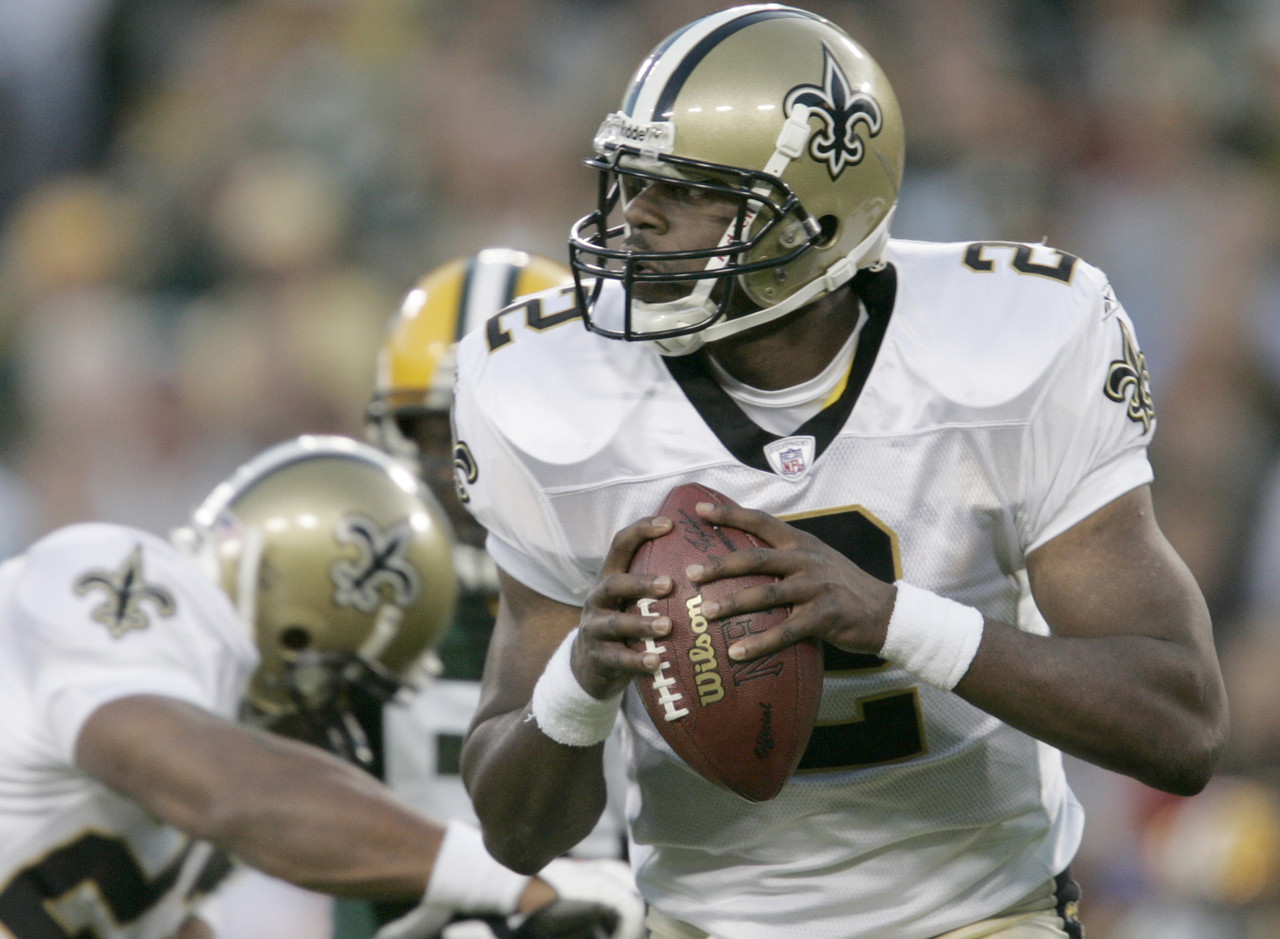 18. Aaron Brooks (Green Bay, Round 4, Pick No. 131 overall, 1999)