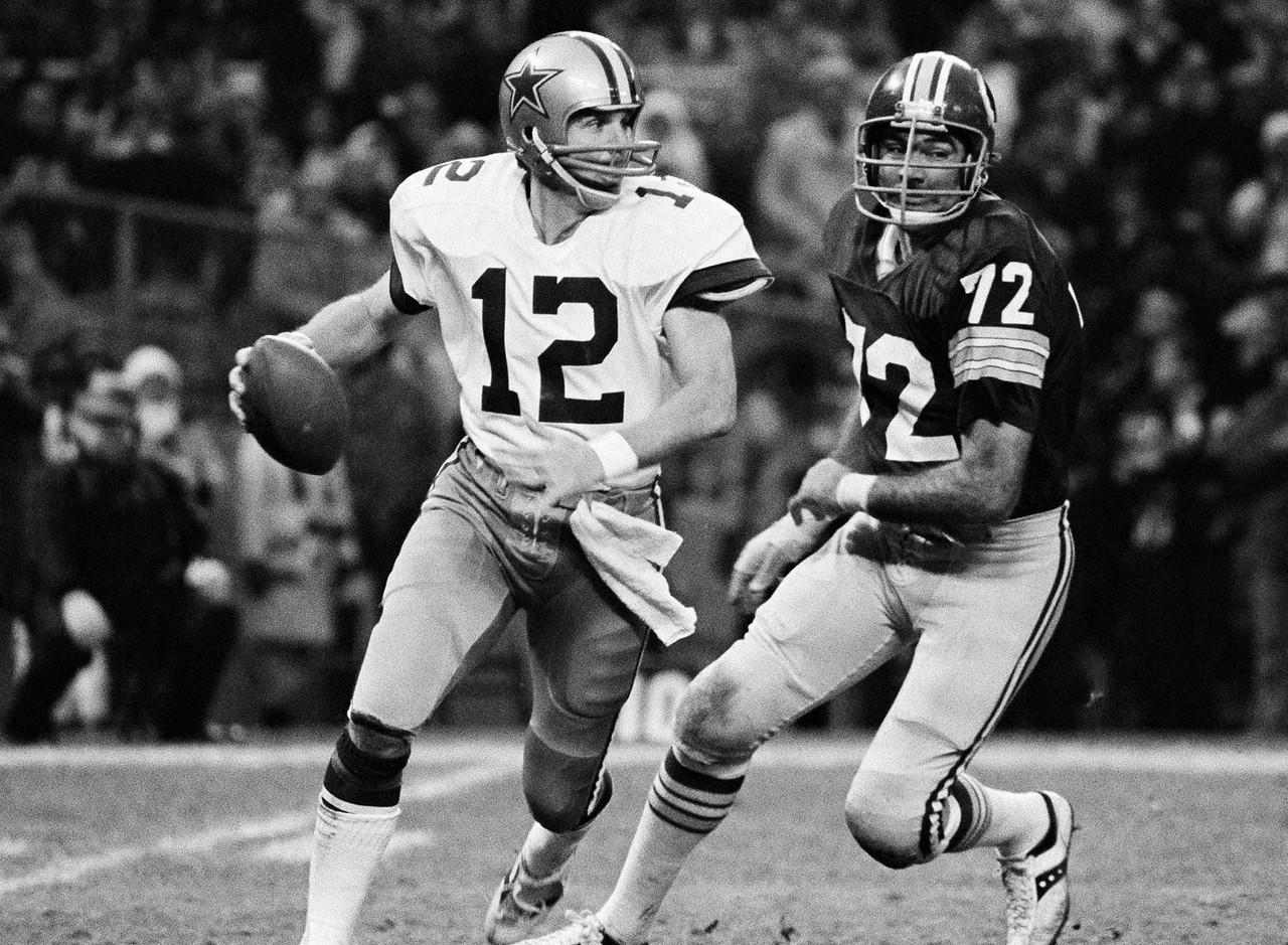 "Often referred to as ""Captain America,"" Staubach was arguably the best quarterback of the 1970s. He started four Super Bowls and was active for five, and he posted the best passer rating in the NFC in five different seasons. Staubach's 85-29 record as a starter is absolutely ridiculous."