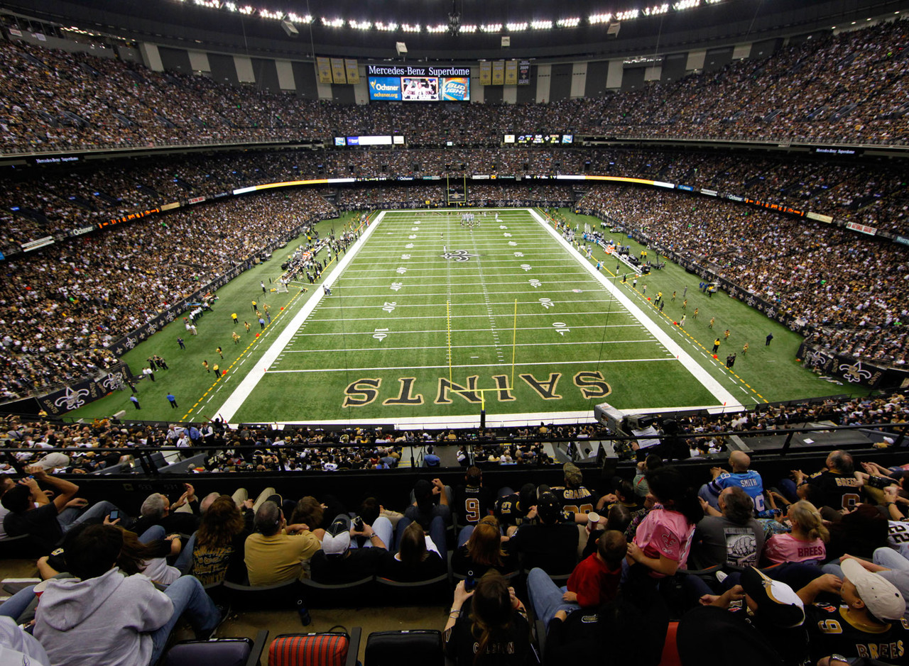 Related keywords suggestions for saints superdome for Mercedes benz superdome new orleans la