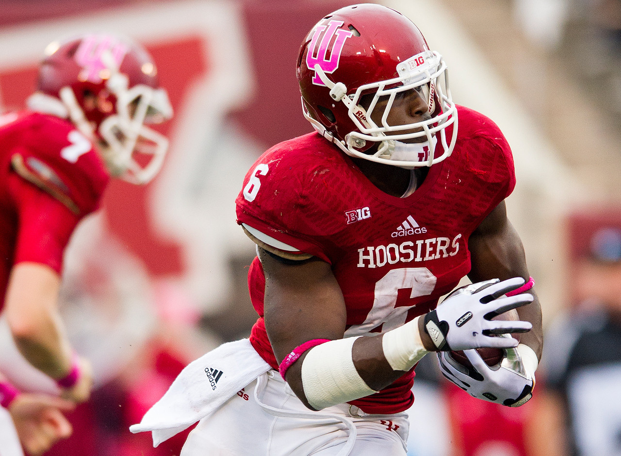 Scouting Profile Tevin Coleman RB Indiana NFL Draft Scouting