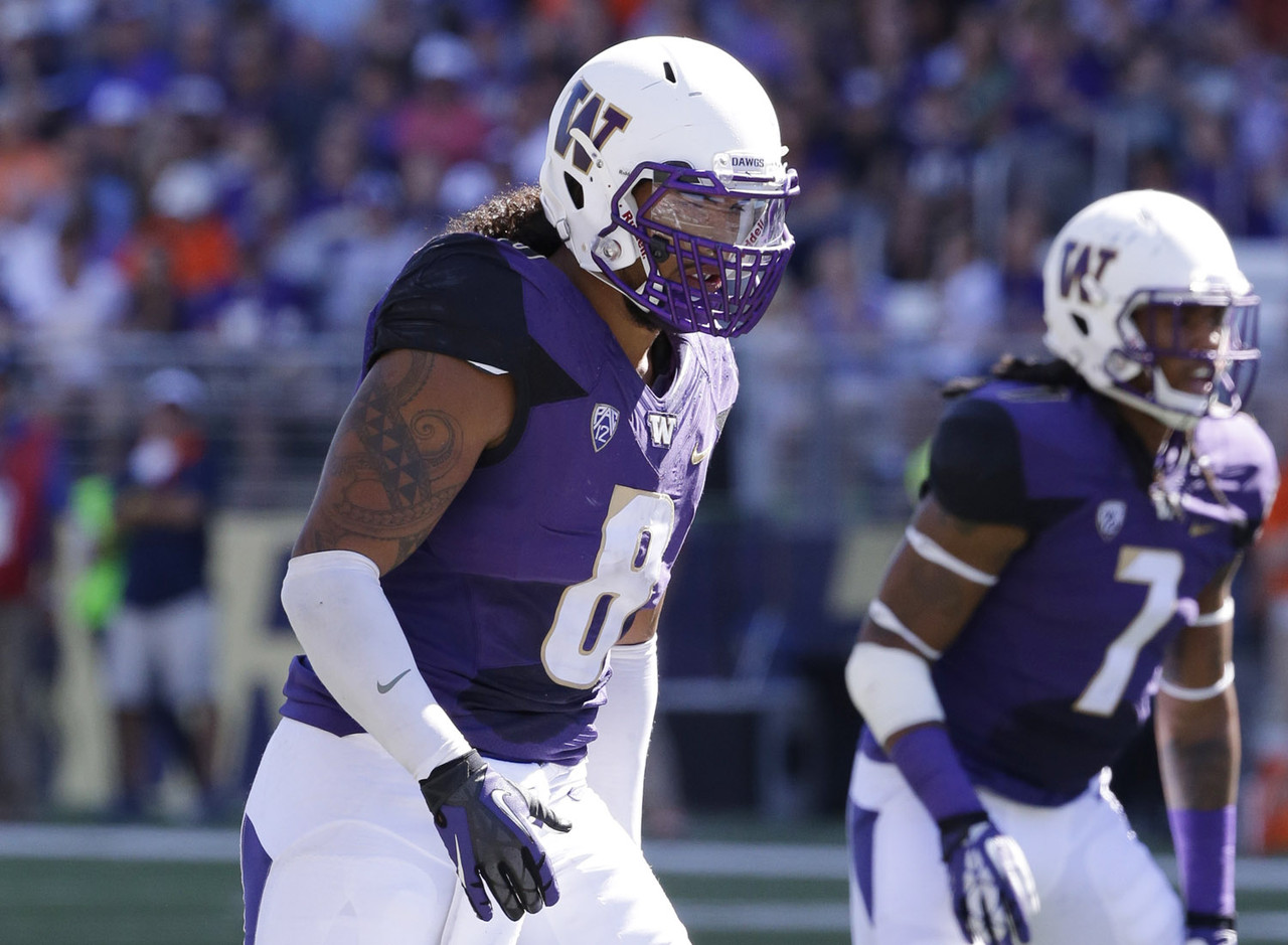 <b>Particulars:</b> 6-3, 246, senior <br><b>Buzz:</b> Kikaha is an offense's worst nightmare. He leads the country in tackles for loss and sacks as an edge rusher you don't want coming at you. Throw in the flowing locks that sprout from his helmet, and there's plenty of flair to Kikaha's game too.