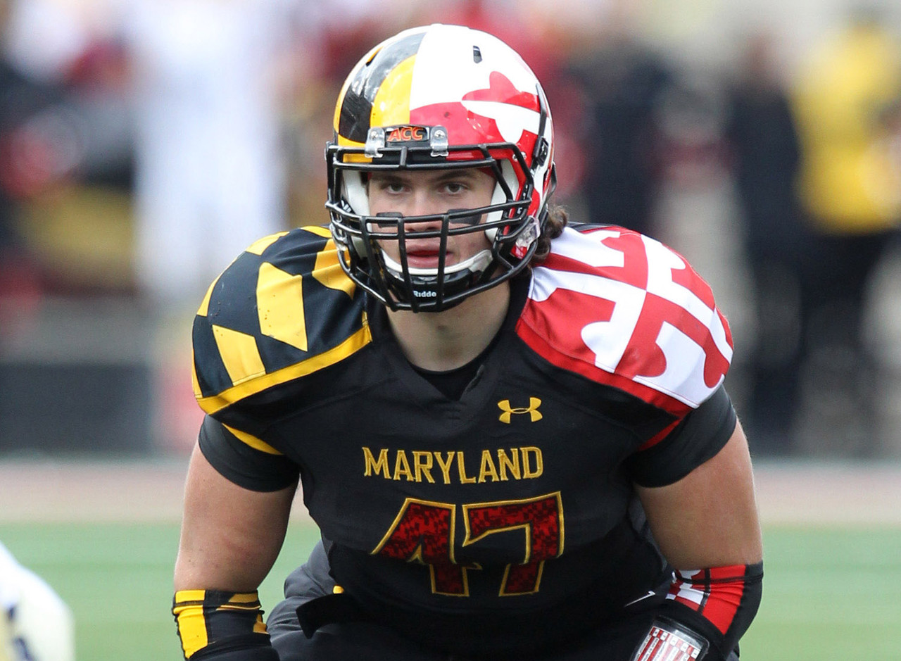<b>Particulars:</b> 6-foot-3, 245 pounds, senior <br><b>Buzz:</b> The Terps will look to Farrand this fall to anchor a defense that struggled in conference play last year. The team moves into Big Ten play this fall, and as the middle linebacker, Farrand will meet the challenge as teams test the new kid in the neighborhood against the run. One of the team's vocal leaders, the senior made 84 tackles to finish second on the team. Also a two-time All-ACC Academic selection, Farrand sets an example whether on the field or not.