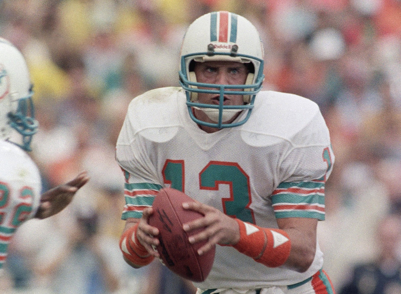 Marino heads up our All-Time All-Rookie Team by virtue of his stellar performance in '83. After taking over in Week 6 for David Woodley, Marino led Miami to the playoffs and finished with the highest passer rating in the AFC (96.0 -- extremely high for the era, particularly for a rookie). He threw 20 touchdown passes against just six interceptions.<br><b>Toughest competition:</b> Sammy Baugh, Bob Waterfield, Otto Graham, Ben Roethlisberger, Matt Ryan, Russell Wilson.