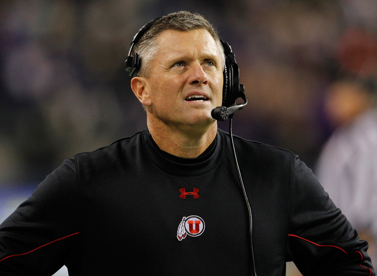 <b>Record:</b> 76-39 in nine seasons.<br/>   <b>Buzz:</b> Whittingham took what Urban Meyer built and made it even better. But the Utes have hit a lull, going 5-7 in each of the past two seasons, lending credence to those who said the move from the Mountain West to the Pac-12 would be too taxing for the program. In three seasons in the Pac-12, Utah is 9-18 in conference play, with the league wins total decreasing from four in 2011 to three in 2012 to two last season. New coordinator Dave Christensen needs to rev up the offense, which has poked along for three seasons in a row. It seems unfathomable that Utah would fire Whittingham, but a third consecutive losing season certainly would add fuel to what already is a small fire.<p></p>