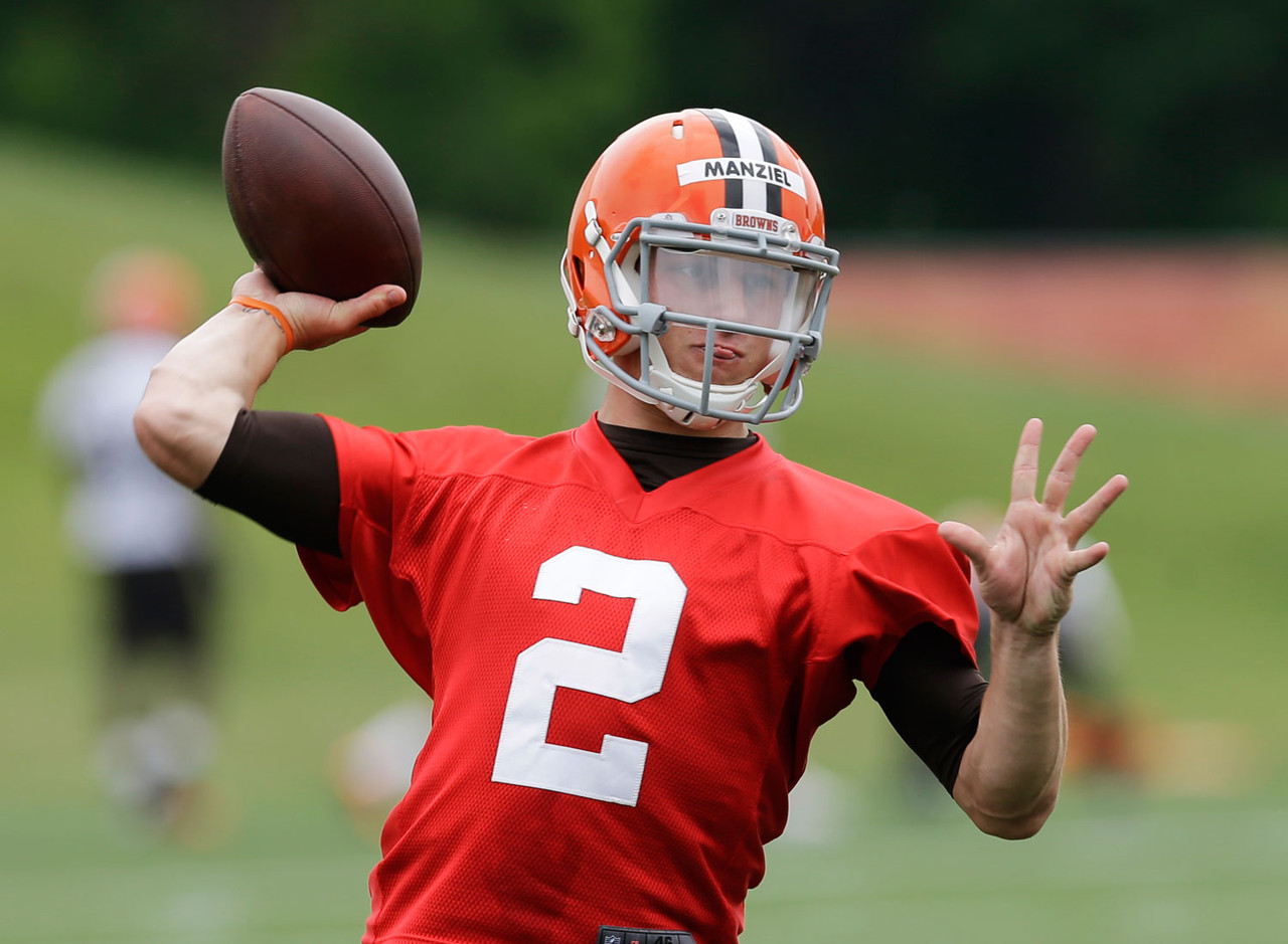 1) Johnny Manziel, QB, Cleveland Browns