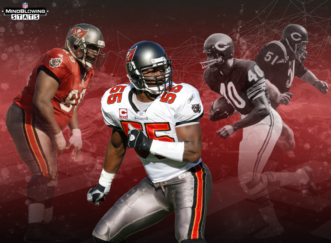 Derrick Brooks and Warren Sapp have been joined at the hip since both were selected in the first round of the 1995 NFL Draft by the Buccaneers, and now they will be joined forever in Canton. How rare is it that two players selected by the same team in the same round of the same draft make the Hall of Fame? Only one other pair of Hall of Famers meet that criteria: Dick Butkus and Gale Sayers, taken with the 3rd and 4th picks in the 1965 draft, by the Chicago Bears.