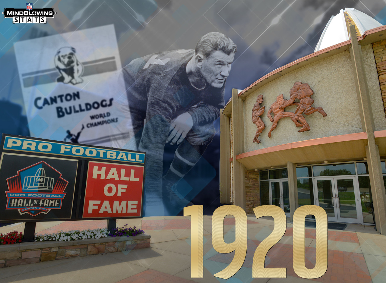 Ever wondered why the Hall of Fame is in the middle of Ohio? Three good reasons: First, the American Professional Football Association, later renamed the National Football League, was founded in Canton on Sept. 17, 1920. Second, the Canton Bulldogs were an early pro football power, even before the days of the NFL. They were also the first two-time champion of the NFL in 1922-23. The great Jim Thorpe, the first big-name athlete to play pro football, played his first pro football with the Bulldogs, starting in 1915. Third, in the 1960s, Canton citizens launched a determined and well-organized campaign to earn the site designation for their city.