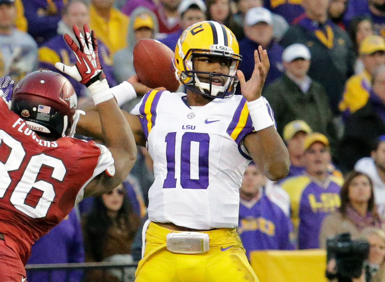 10. Anthony Jennings, LSU