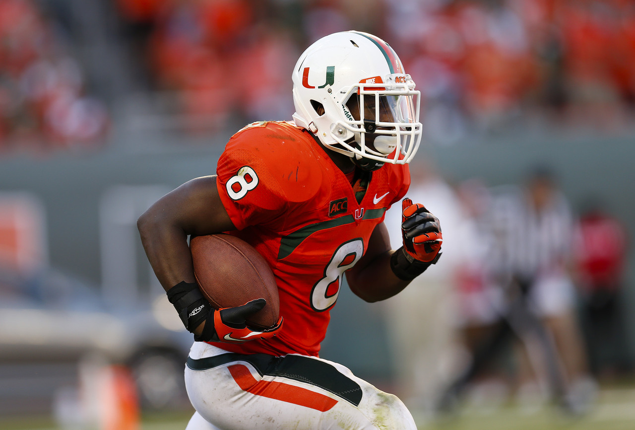 14. Duke Johnson, RB, Miami (Fla.)