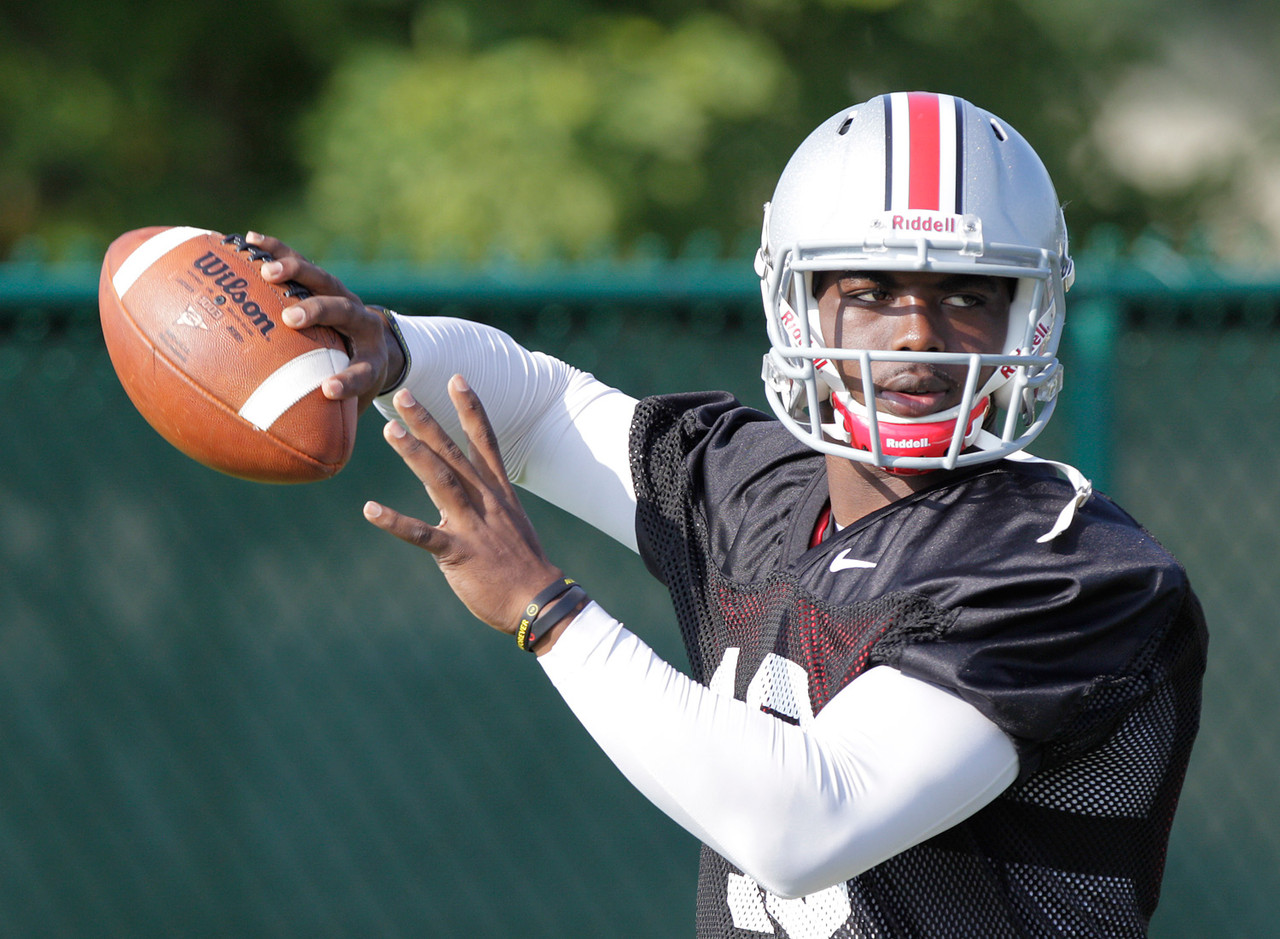 <b>Why you should know about him:</b> He is replacing Braxton Miller (who was No. 2 on the original incarnation of this list) as the Buckeyes' starting quarterback. Good luck, youngster. Barrett is a redshirt freshman who obviously has huge shoes to fill, and he will be in the glare of the national spotlight all season. Whether he handles that glare with aplomb or instead is wide-eyed will shape Ohio State's season.