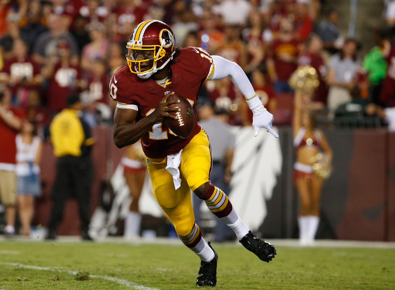 Robert Griffin III, QB, Washington Redskins