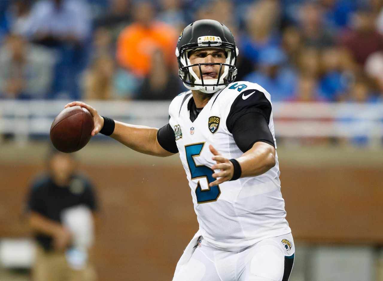 When Bortles was drafted, the Jaguars said there was almost no way he'd play during the 2014 season. Then the young man from Central Florida played so well during the preseason that Jacksonville's brass began to rethink that decision. Chad Henne was eventually named the Week 1 starter, but if things go sideways for the Jaguars, it could be easy to see Bortles taking over the gig.