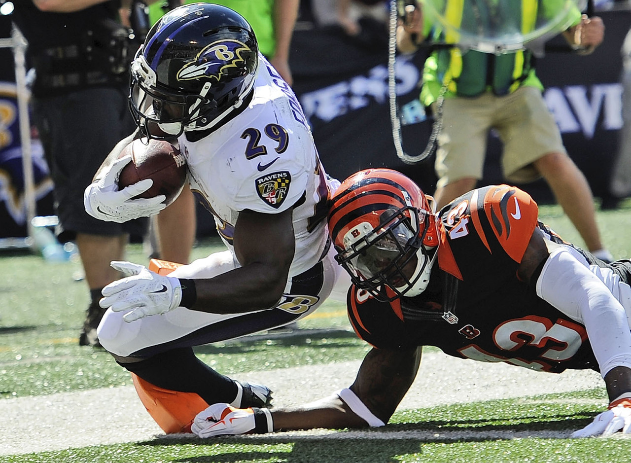 It was Forsett, not Bernard Pierce, who led the Ravens in backfield touches in their opener against the Cincinnati Bengals. The veteran looked good, too, as he rushed 11 times for 70 yards and scored on a 13-yard run. Forsett, who also caught five passes, could wind up being the best Ravens runner heading into a Week 2 battle against the Pittsburgh Steelers. Now that Ray Rice has been cut from the team, Forsett may play a bigger role than expected for the Ravens this season.