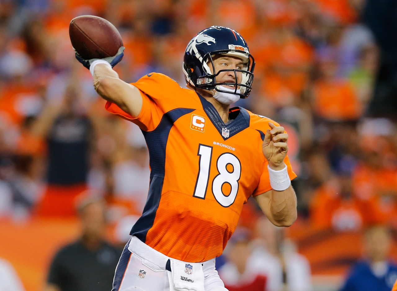 Manning earned No. 1s across the board, making him the top-rated player for Week 2.