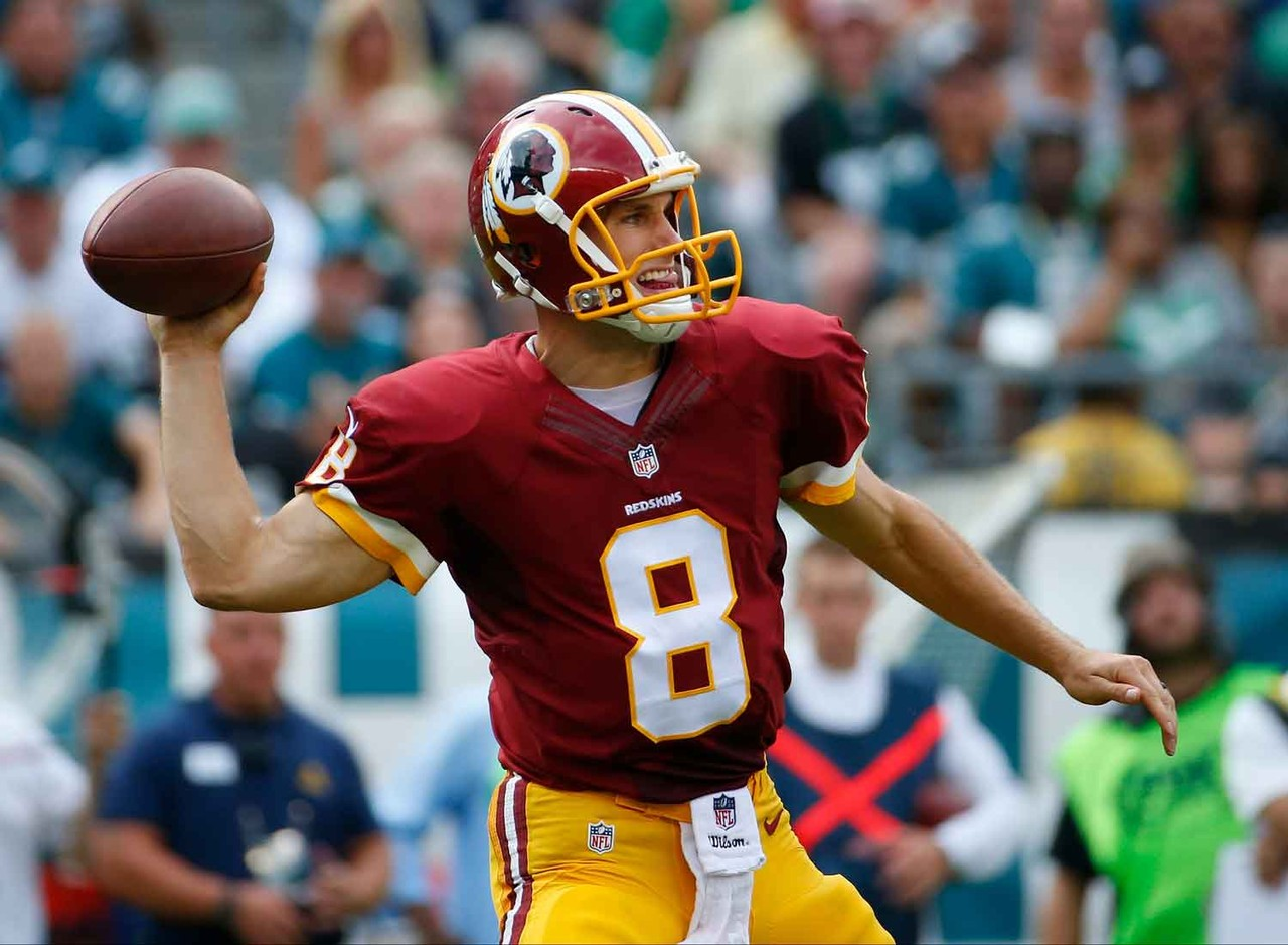 Cousins put up video-game numbers in Week 3, posting 427 passing yards with three touchdowns in a loss to the Philadelphia Eagles. The unquestioned starter in an offense that helped Andy Dalton finish fifth in fantasy point among quarterbacks in 2013, Cousins is someone who now needs to be rostered in most leagues. He'll next face the New York Giants, who have a questionable pass defense, in Week 4.