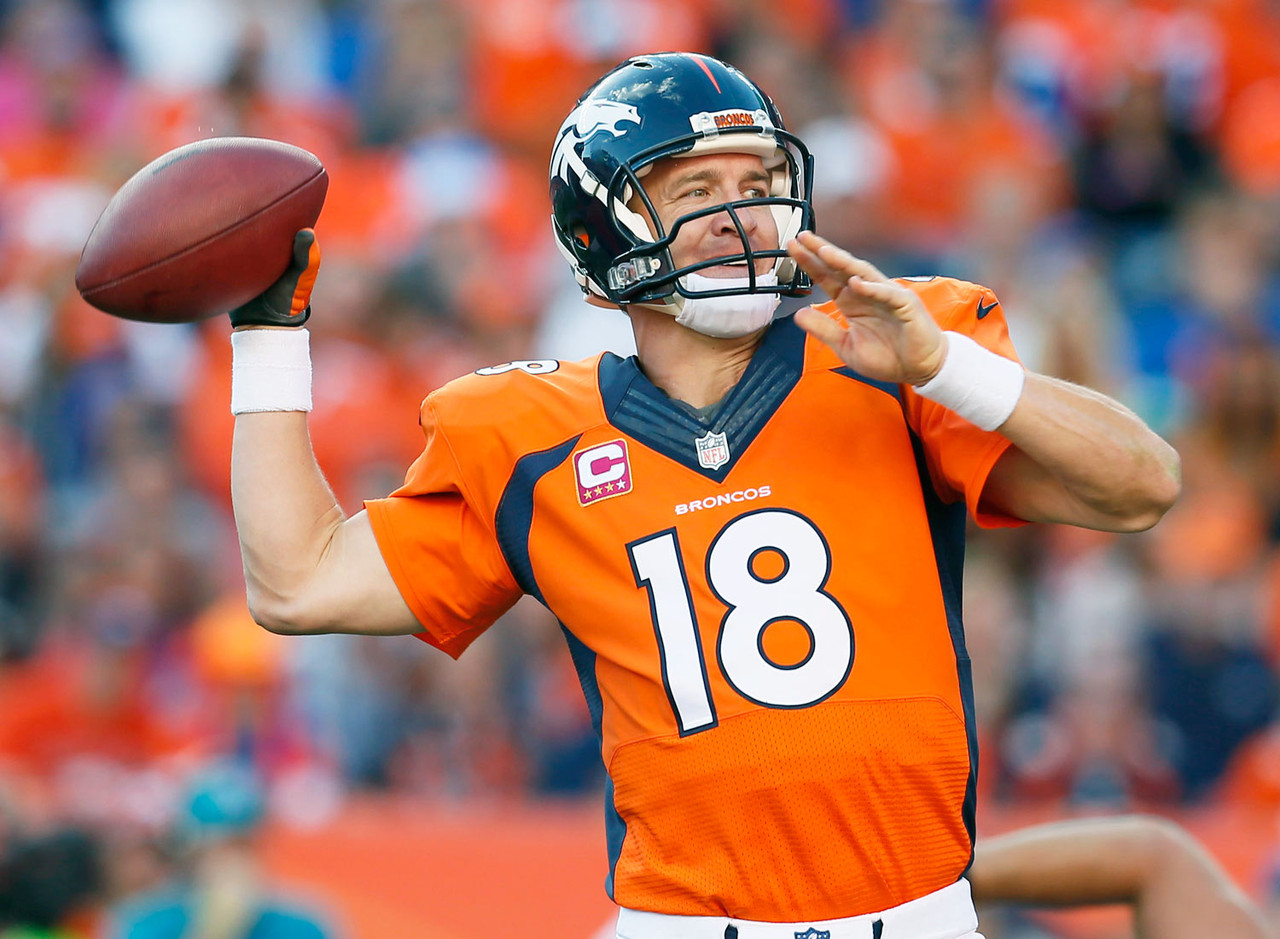 <p>One week after lighting up the Arizona secondary, Manning gets to face the New York Jets, who have been more generous to opposing pass attacks than Bill Gates is through his charitable contributions. It's no wonder Manning was the No. 1 quarterback across the board.</p>