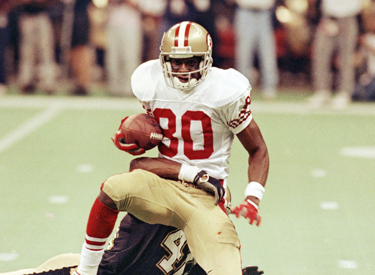 s most unbreakable records com jerry rice career receiving records