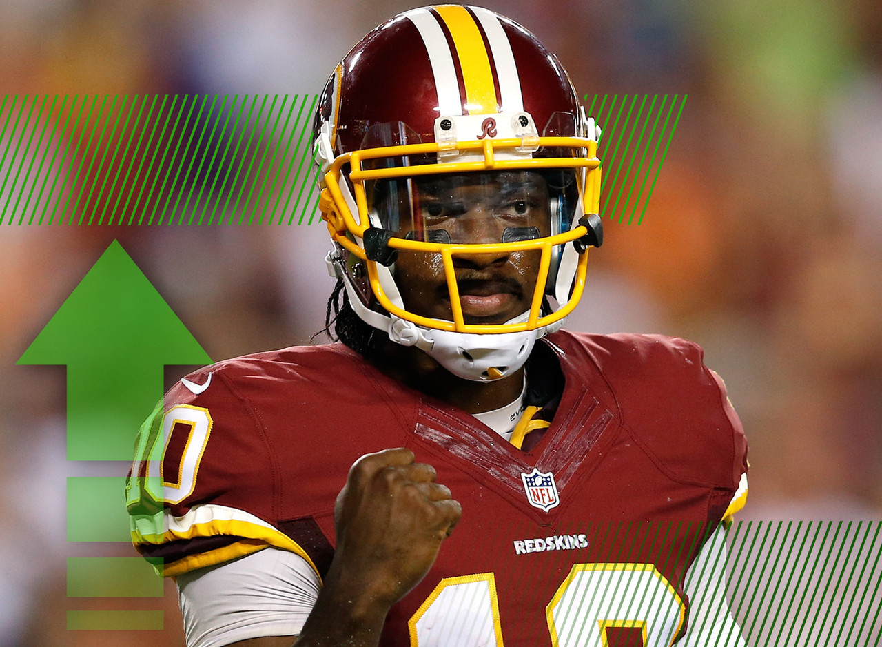 "<p>NFL Media Insider Ian Rapoport reported on Thursday that <a href=""http://www.nfl.com/news/story/0ap3000000419912/article/jay-gruden-on-rgiii-all-systems-look-like-theyre-a-go"" target=""new"">RGIII will start</a> for Washington on Sunday against the Minnesota Vikings. This is perfect timing with the likes of Aaron Rodgers, Matthew Stafford, Matt Ryan and Jay Cutler on their bye week. RGIII could help spark this offense and makes for a nice spot start against the Vikings, even though their defense isn't conceding a ton of points to fantasy quarterbacks. </p>"