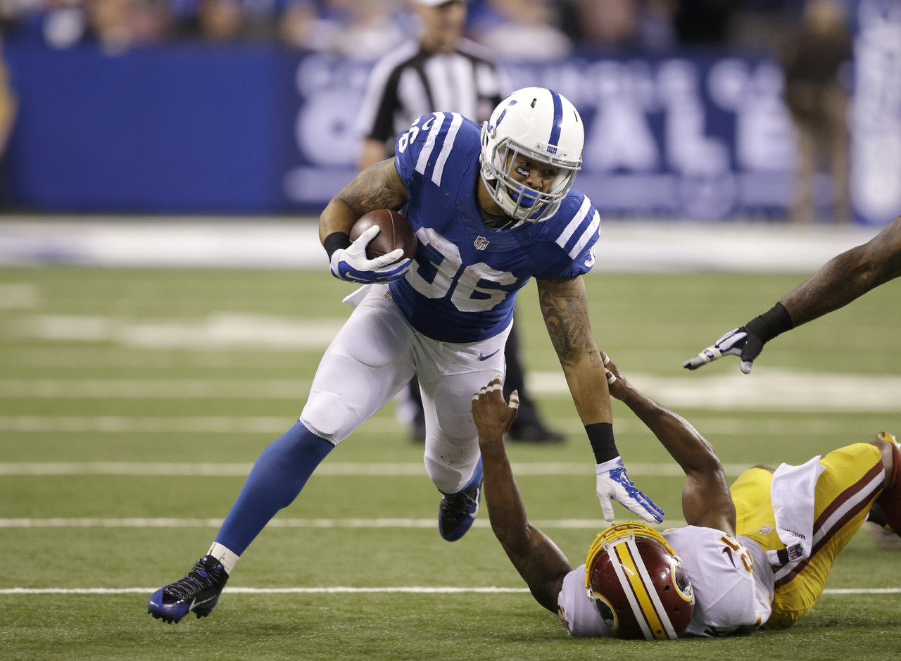 The Colts don't trust Trent Richardson as a featured running back, and that has been evident over the last two weeks since Ahmad Bradshaw was lost for the season. Instead, it's been Herron who has led the Colts in backfield touches and fantasy points during that time. At a point in the season when good running backs are hard to find on waivers, Herron now needs to be owned.