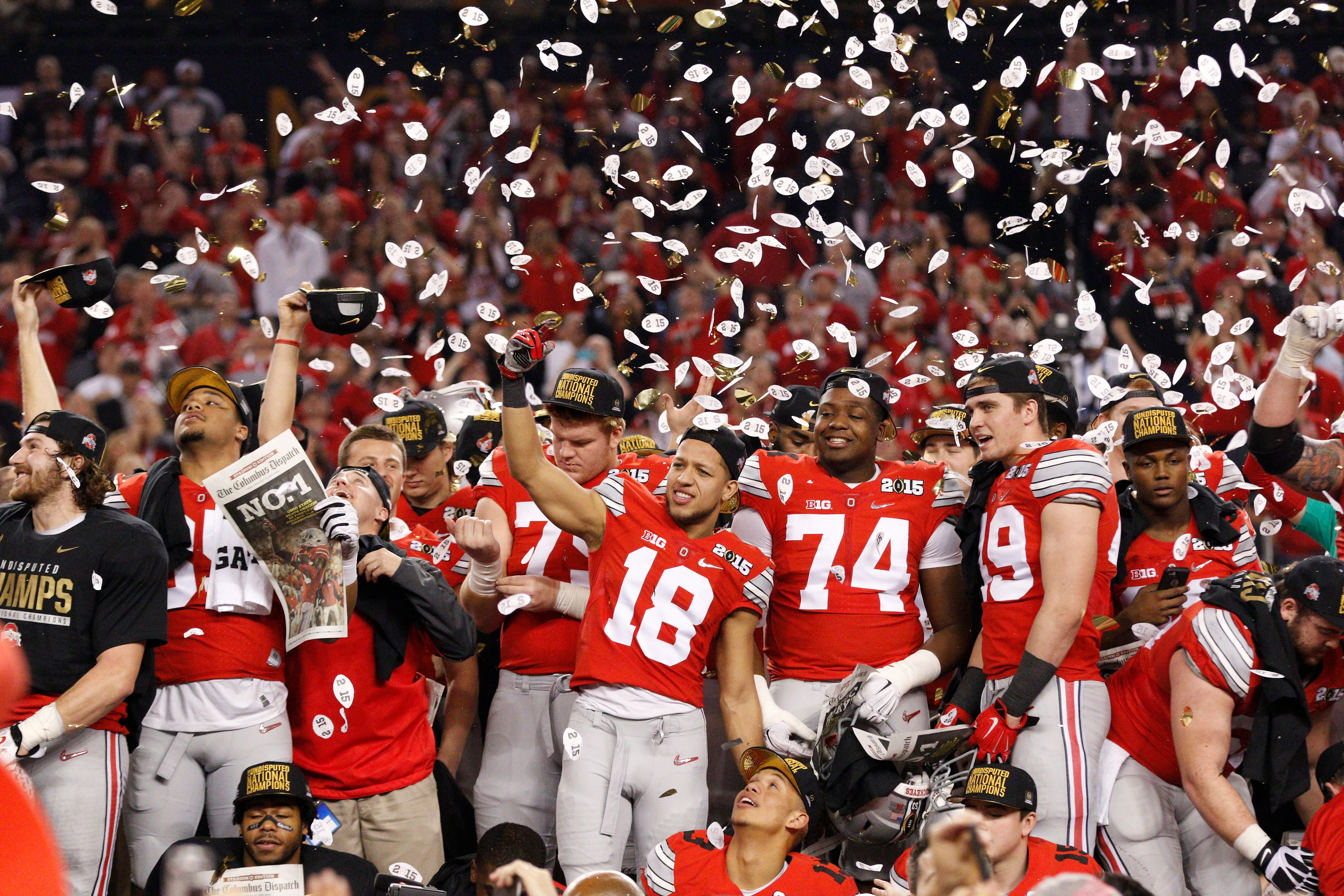 Score Of Last Year Ncaa Championship Game Football | Les ...