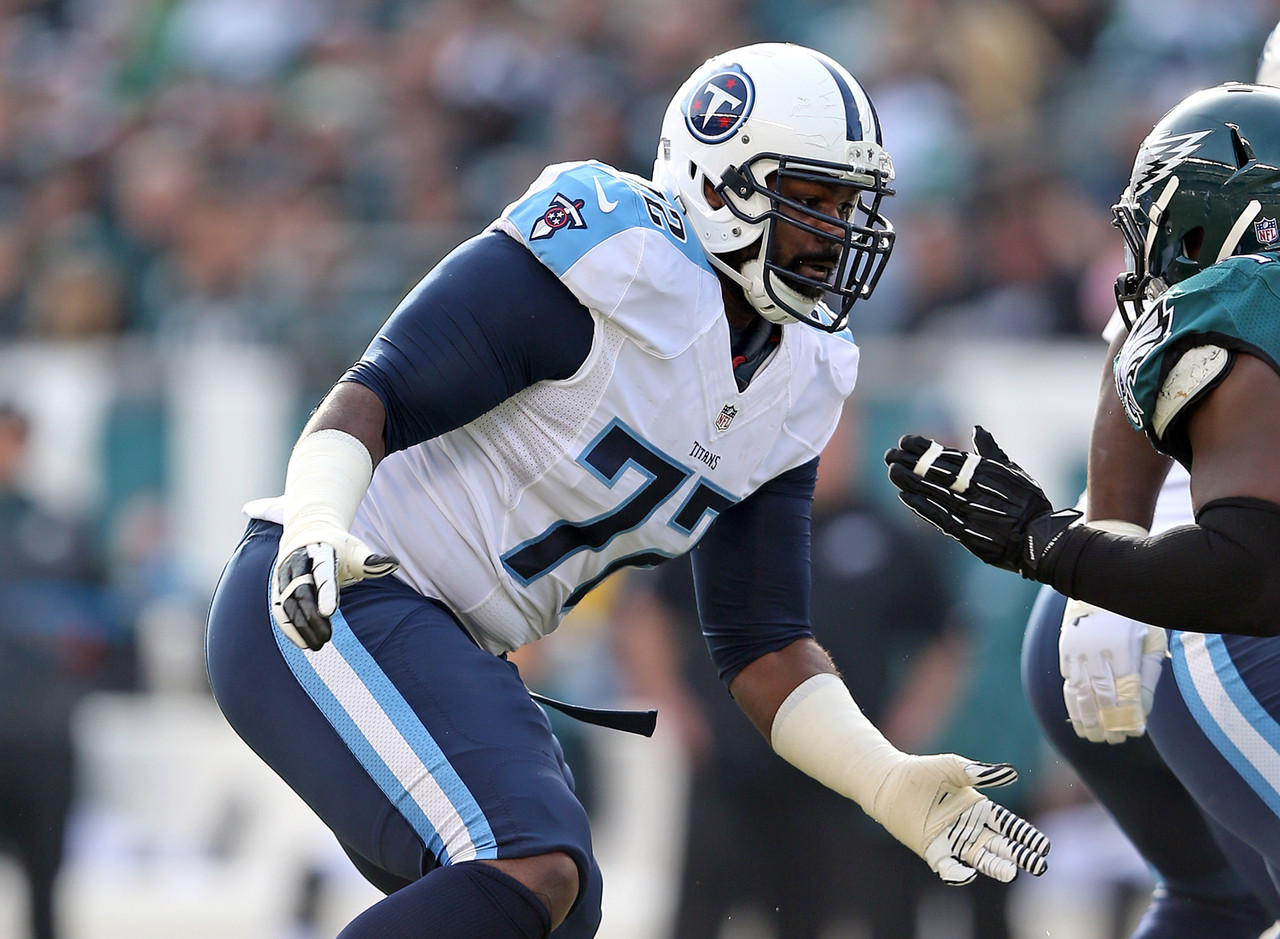 Honorable mention: Michael Oher, Tennessee Titans (2014)
