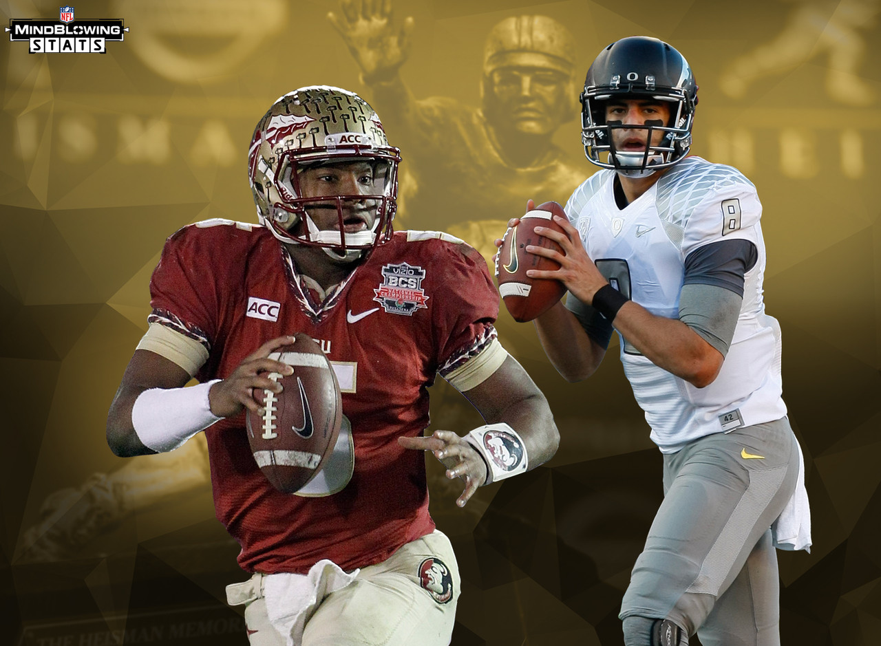 There have been 79 different players to win the Heisman Trophy. Yet the 2015 NFL Draft marked the first time ever that Heisman winners were selected first and second overall in the same draft. Prior to 2015, there had been only one previous draft in which two Heisman Trophy winners even went in the top 10: 2006, when USC teammates and back-to-back Heisman winners Reggie Bush and Matt Leinart went second and 10th overall, respectively.