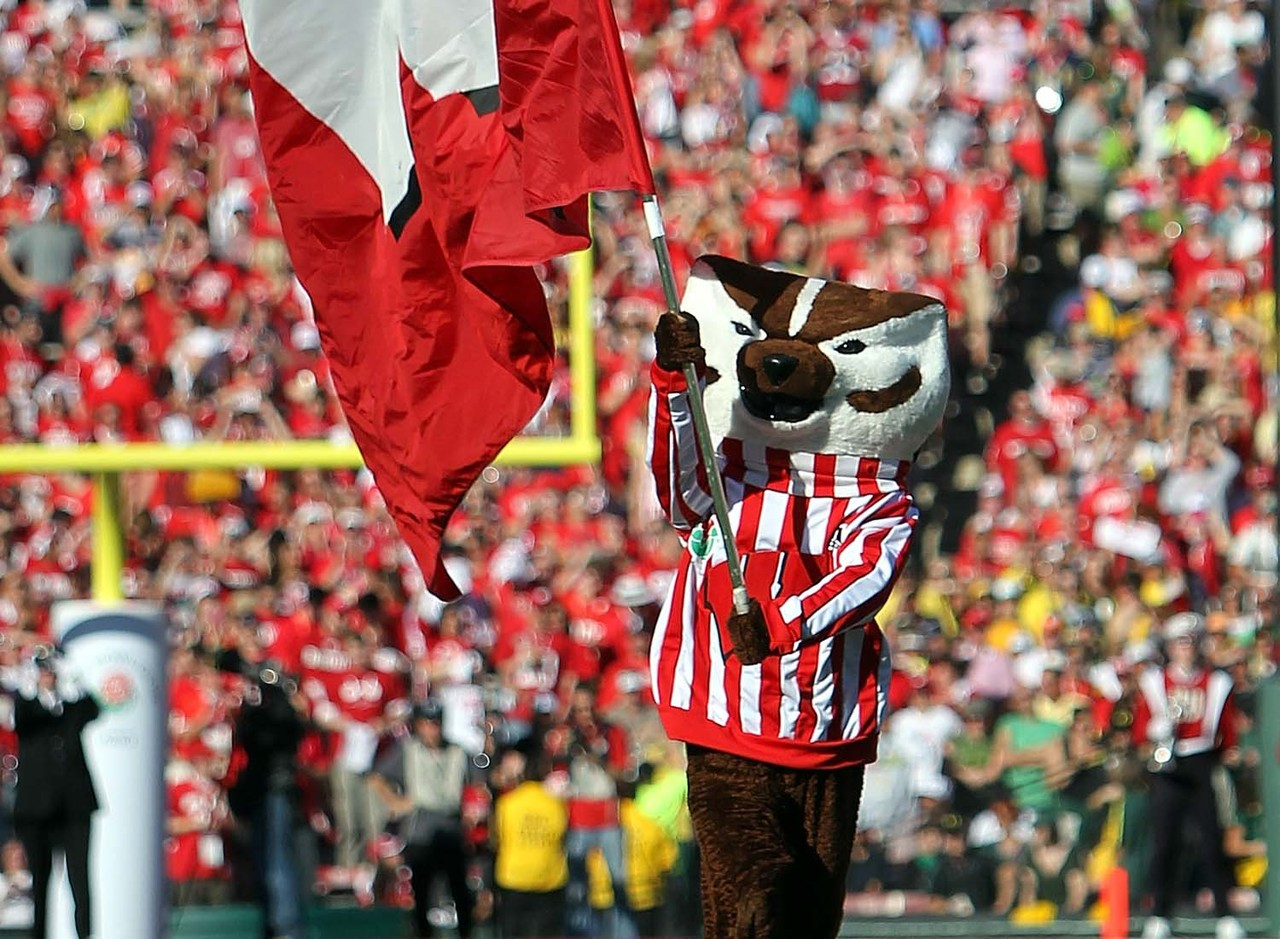Slightly strange look? Sure, but Bucky makes up for that by being one of the more recognizable mascots around the tradition-rich Big Ten. He's got plenty of energy no matter what sporting event he's at, and his use of humor is top notch.